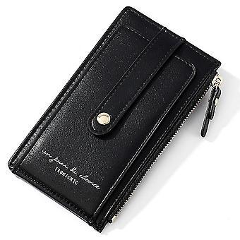 Multifunkčná dámska kabelka na mince, anti-degaussing NFC tieniaci držiak karty