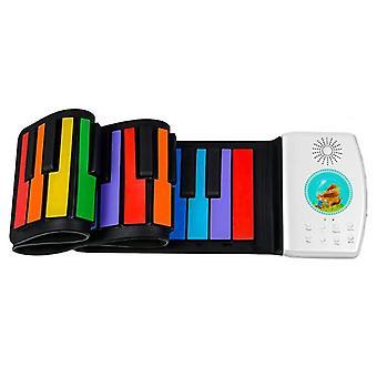 لوحة المفاتيح الرقمية مرنة نشمر البيانو