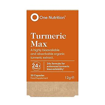 One Nutrition Turmeric Max Caps 30 (ONE041)