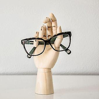 Eyewear cases holders wooden hand