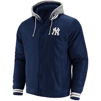 New York Yankees MLB SATEEN Veste Hooded College