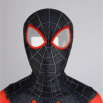 Halloween Show Spiderman Headgear (black) Adult Spiderman Mask Avengers Costume Face Mask, Made Of 100% Polyester. Size: Free Size, Weight: About 250