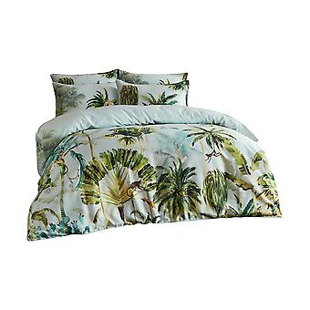 Paoletti Forsteriana Palm Tree Duvet Cover Set