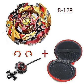 Spinning tops 5 beyblade burst sparking turbo b48 launcher  metal top gyro blade blade spinning fight toys b128