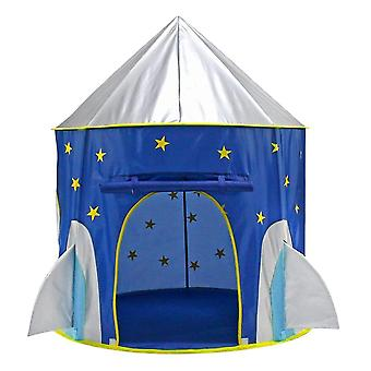 Play tents tunnels capsule blue children pop up play tent playhouse indoor outdoor