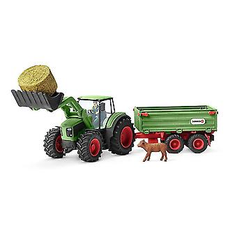 Ant farms farm world tractor with trailer