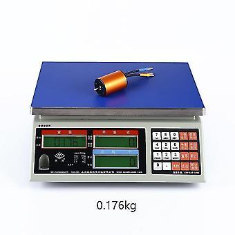 Hockey toys ocday 1:10 b3650 5200kv 4p sensorless brushless motor cnc for 1/10 rc car