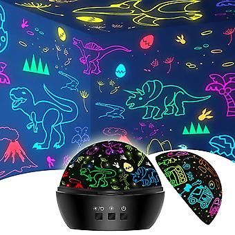 Toys For Year Boys, Dino Projector Light Kids Toys For Age 3-6, 2 In 1 Boys Toys For Year Old Kids, Xmas Stocking Fillers Birthday Gifts For Boys Age