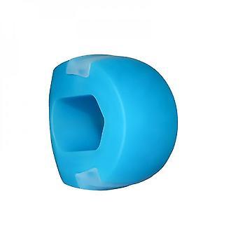 Masseter Trainer Jaw Trainer Chew Jawline Fitness Ball Dispositif d'entraînement musculaire facial (bleu)