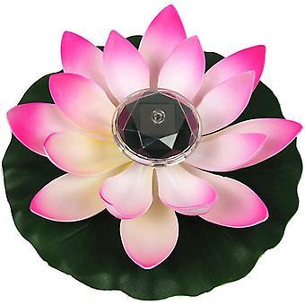 Lotus Lichter, Solar Lotus Schwimmende Teich Dekoration, LED wechselnde Nachtlichter, 1pc Pool Party Gartenmöbel