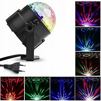 15 Farben Kleine Magic Ball Licht Led Bühnenlicht Disco Kristall Disco Magic Ball Licht Buntes Laserlicht -
