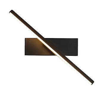 Wall Sconce Creative Led Bedside Wall Light Indoor Hotel Aisle Corridor Staircase Living Room Background Wall Sconce Rotating Sconce  Black, 6w, Cold