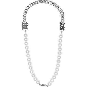 Net Red Temperament Girl Pearl Clavicle Chain Ins Hip-hop Necklace Choker Retro Wild Necklace Female Tide Brand