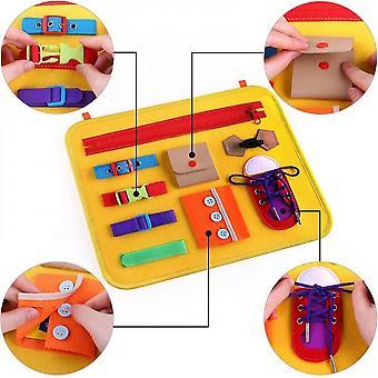 Montessori Toddler Busy Board Toys for Kids- Meilleur cadeau de jouet