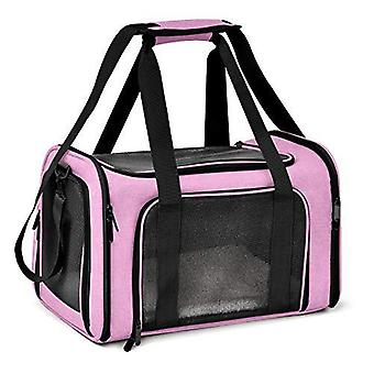 Large Cat Carriers Dog Carrier Pet Carrier For Large Cats Dogs Puppies Up To 25lbs, Big Dog Carrier Soft Sided, Collapsible Waterproof Travel Puppy Ca