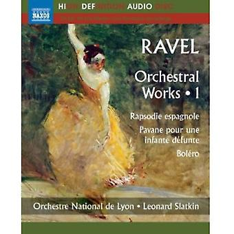 M. Ravel - Ravel: Orkestermusik, Vol. 1 [BLU-RAY] USA import
