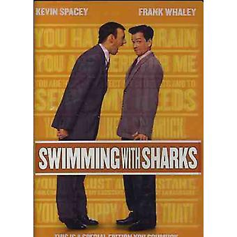 Swimming with Sharks [DVD] USA import