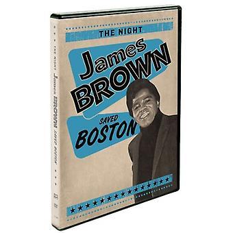 Nat James Brown gemt Boston [DVD] USA importerer