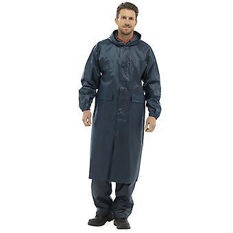Storm Ridge Mens snøring-hette vanntett jakke