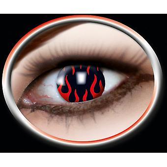 FLAME contact lens lens 1 pair Carnival Halloween