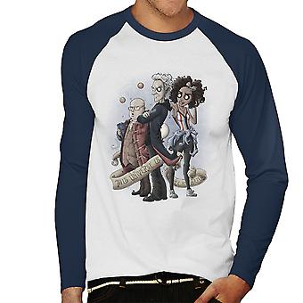 Dette univers er Under mit ur Doctor Who mænds Baseball langærmet T-Shirt