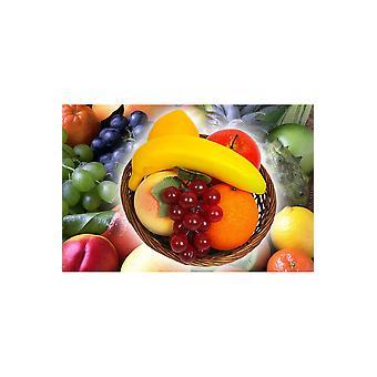 Deco kosz owoców fałszywych produktów