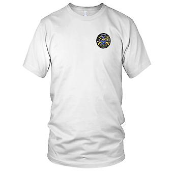 US Army - 4th Sqaudron 3rd Aviation Cavalry Regiment Embroidered Patch - Outrider OD Mens T Shirt