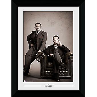 Sherlock Vintage Collector Print 50x70cm