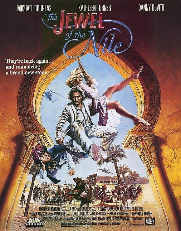 The Jewel of the Nile Movie Poster (11 x 17)