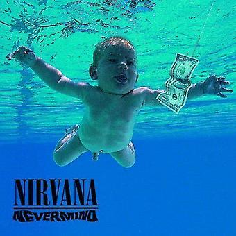 Nirvana-Nevermind Kurt cobain nieuwe officiële gelegenheid een wenskaart