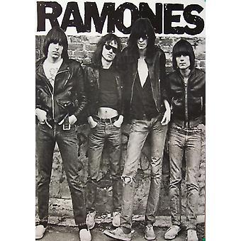 1 º Ramones álbum Cartel Poster Print