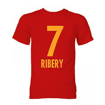 Franck Ribery Bayern München Held T-Shirt (rot)