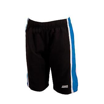 Mittelerweile Junior Boy Muriwai schwimmen Shorts schwarz/blau für Kinder 6-15 Jahren