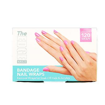 The Edge Nails Bandage Nail Wraps (120 Wraps)