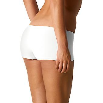 Mey 79108-1 kvinnors form vit färg Knicker kortisarna Boyshort
