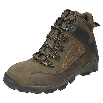 Mens Spot On Boots A3034