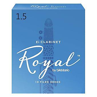 Rico Royal 1 1/2 Eb Clarinet Reed (x10)