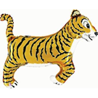 Oaktree Betallic 41 Inch Tiger Balloon