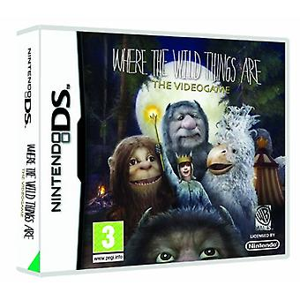 Where The Wild Things Are (Nintendo DS) - Novo