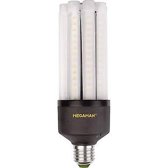 Megaman LED (monochrom) EEC A+ (A++ - E) E27 Rod 35 W = 180 W Warmweiß (x L) 63 mm x 188 mm 1 Stk.