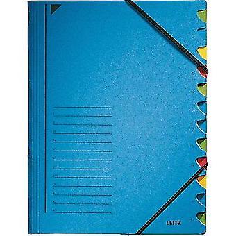 Leitz 3912-00-35 Organizador Azul A4 No. de compartimentos: 12