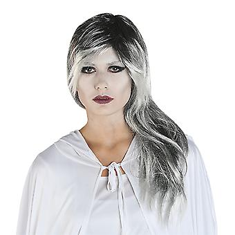 MIM silver-ladies wig ghost ghost accessory Carnival Halloween