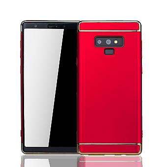 Samsung Galaxy touch 9 mobiili kattaa tapauksessa puskurin kova kansi punainen