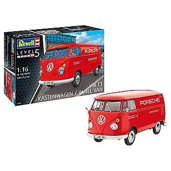 Revell 07049 VW T1 junakeulapakusta malli Kit - 1:16 mittakaavan