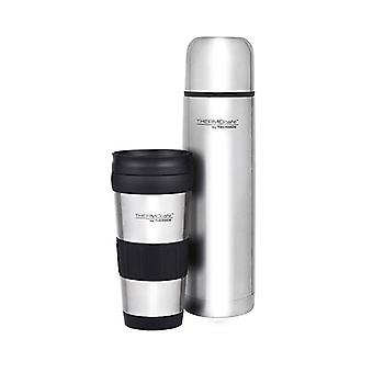 Thermos THERMOcafe Combo Pack 1.0L Slim Vacuum Flask