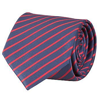 Binden, binden, koppelen, Binder, 8cm, blauw rood gestreepte Fabio Farini,