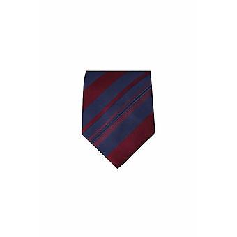 Blue silk tie M25