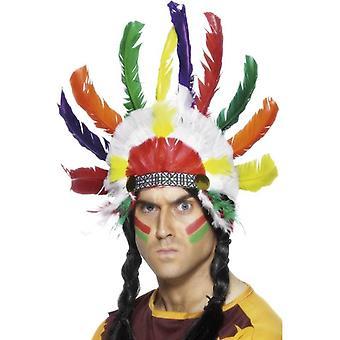 Nakryciu głowy Indian.  Jeden rozmiar