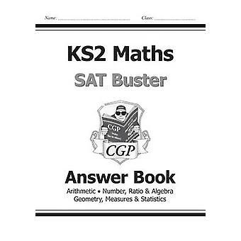 KS2 Matematiikka SAT Buster - vastaus kirja (ja opetussuunnitelmasta) CGP Boo