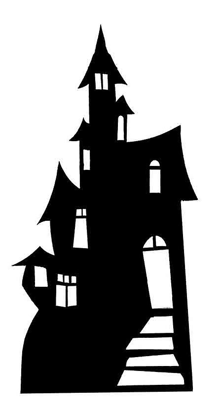 Haunted House (Silhouette) (Halloween) - Lifesize ...